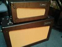 Laney Cub 15w guitar amp Head & 2x12 Cab