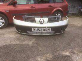 Renault ESPACE MK4 front bumper complete