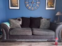 DFS 3.5 BED SOFA AND LARGE 2 SOFA