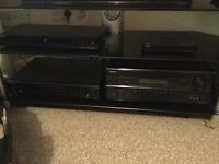 Onkyo surround sound system with CD player and keff speakers