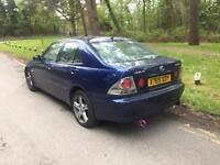 2000 Lexus IS200 2,0 litre 5dr 11 months mot