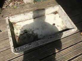 Cotstone Stone Garden Tray Trough Sink or Water Feature