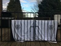 Metal Garden Gates - Double Set