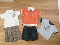 BUNDLE OF DESIGNER BOYS CLOTHES 6-9 months Hilfiger, Ralph Lauren, Timberland, Calvin Klein