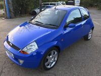 FORD KA SPORT , 1 YRS MOT , 3 PREVIOUS OWNERS , 47,000 MILES