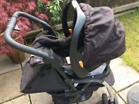 Chicco City Stroller Buggy And Car Seat Travel System