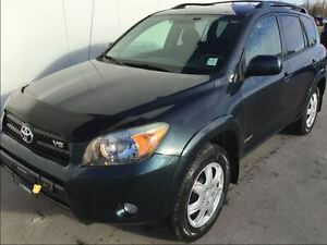 2008 Toyota RAV4 Sport with winter tires