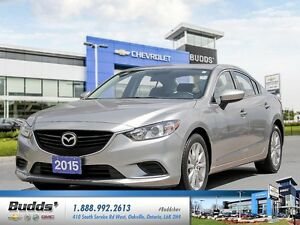 2015 Mazda Mazda6 GX SAFETY AND RECONDITIONED