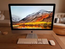"""iMac 27"""" 2.9Ghz i5, 8Gb RAM, 1Tb HDD, great condition, Fully boxed"""