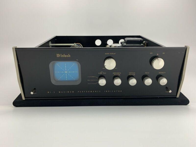 Mcintosh MI-3 Tuner Maximum Performance Indicator