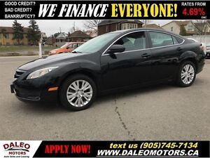 2010 Mazda MAZDA6 GS-I4 1 OWNER 83 KM SUNROOF