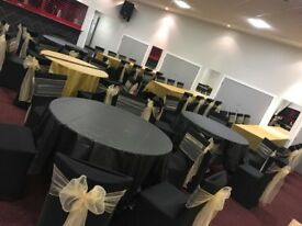 SPANDEX CHAIR COVER HIRE