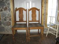 VINTAGE   DINING   CHAIRS