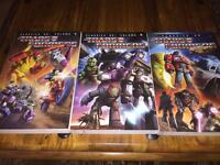 Transformers classics uk comics vol. 1, 2 & 4 graphic novels