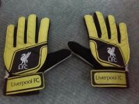 Youth Liverpool Football Goalie Gloves
