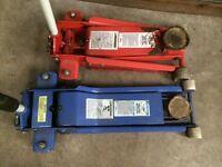 Snap-On Trolley Jack Blue Point Garage Floor Jack Low Entry 1 Ton & 3 Tonne Workshop mechanic tools