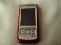 Nokia E65 in immaculate condition in silver and red color, Unlocked on all Networks
