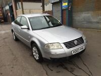 2003 Volkswagen Passat 1.9 TDI Se Diesel Automatic Gearbox Problems Hence Bargain Price