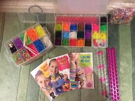 Loom band kit and books
