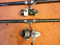 13ft heavy float rod with reel