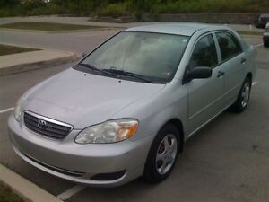 2007 TOYOTA COROLLA, NO ACCIDENTS, GOOD CONDITION, NO RUST!!!!