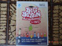 Nintendo Wii 'Big Brain Academy'