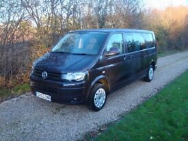 Vw Transporter 140 Factory Kombi Lwb 2013