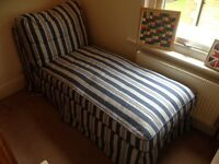 Ikea chaise lounge / additional black cover available
