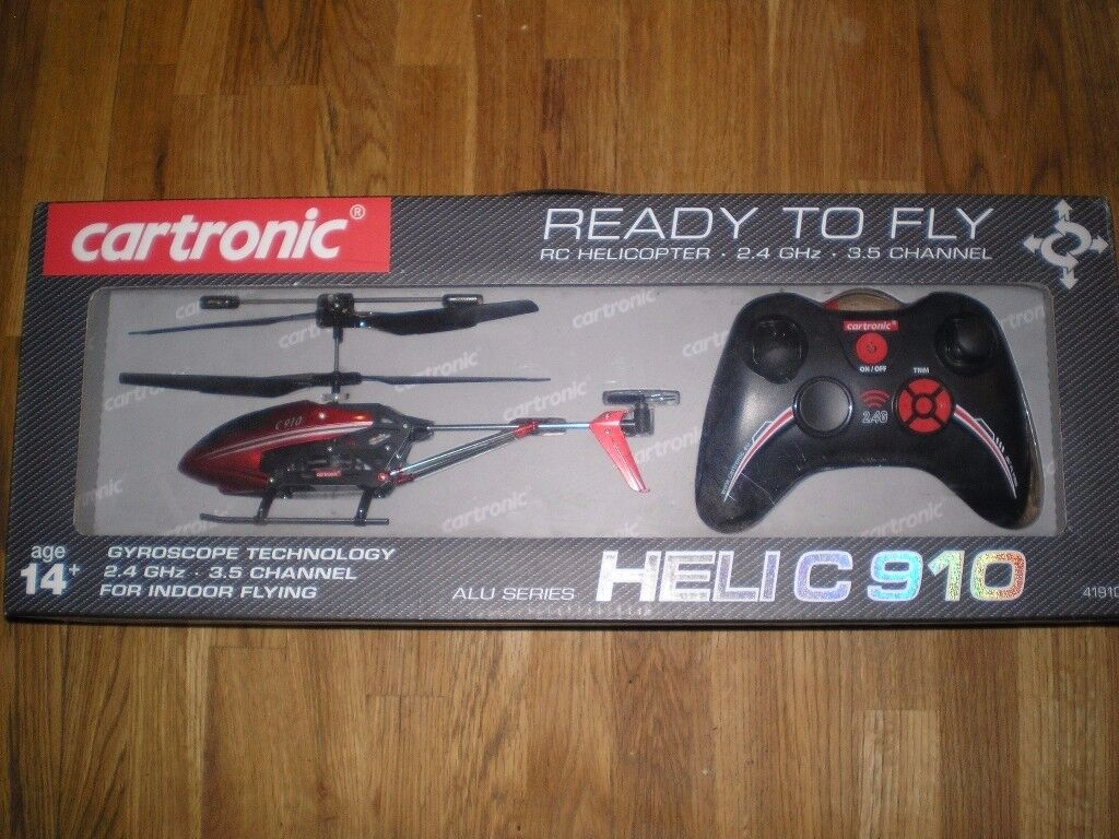 Remote control helicopter- Cartronic ALU series Helic 910