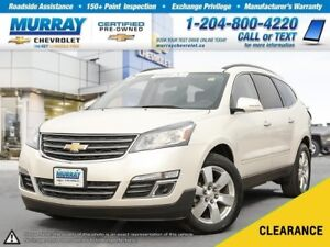 2014 Chevrolet Traverse LTZ *Rear View Camera, OnStar, Climate C