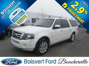 2012 Ford Expedition Max Limited FULL DVD APUIS TÊTE