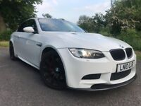 BMW M3 ALPHINE WHITE 456BHP P/F EXHAUST E93 2010 DCT