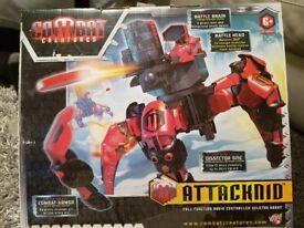 combat creature attacknid