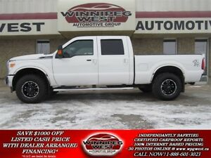 2013 Ford F-250 LARIAT CREW 4X4, SUNROOF, LEATHER, FLAWLESS!