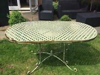 Garden Table (French Style)