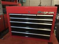 RED PROFESSIONAL TOOL BOX 7 DRAWER