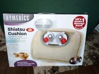 HoMedics Shiarsu massage cushion deep heat kneading massager