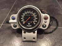 Triumph Bonneville Scrambler clocks