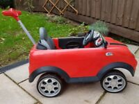 Mini Cooper Push & Ride on Car