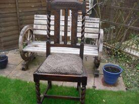 Oak Adult chair