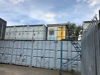 HURRY AVAILABLE NOW , STORAGE CONTAINERS TO RENT, IN THE LEYTON AREA OF EAST LONDON