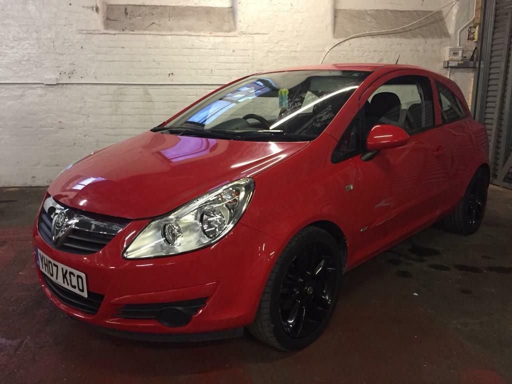 VAUXHALL CORSA 1.2 SXI 3 DOOR RED 2007