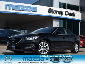 2015 Mazda MAZDA6 GS-L AUTO,LEATHER+NAV, SUNROOF, 1 OWNER, LOW K