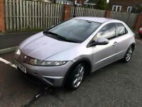 spares or repairs 2007 honda civic 1.4 se 12 mths mot easy fix