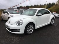 2014 Volkswagen Beetle, 1.4 12 months warranty, 2 years FREE MOT and servicing, Finance available