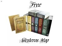 Brand new game of thrones 7 book box set