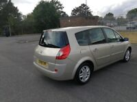 7 SEATER RENAULT GRAND SCENIC AUTOMATIC IN EXCELLENT CONDITION. 1 YEAR MOT. LEATHER SEAT. HPI CLEAR