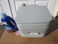 Portable Flush Toilet NEW UNUSED