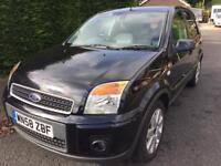 2009 58Reg Ford Fusion 1.5 Diesel Black £30 Cheap Road Tax