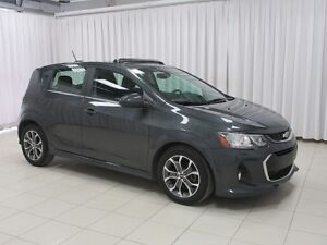 2017 Chevrolet Sonic LT RS EDITION TURBO 5DR HATCH